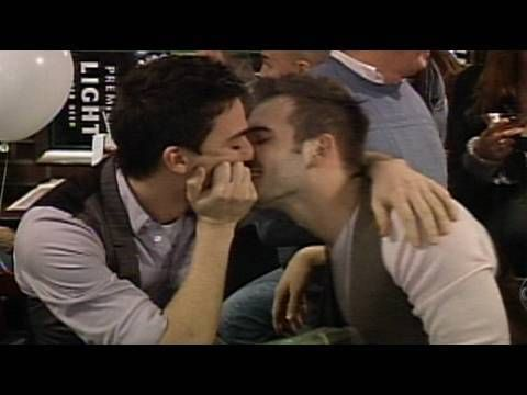 Gay Couple Mocked for PDA by Bar Patrons | What Would You Do? | WWYD | A...