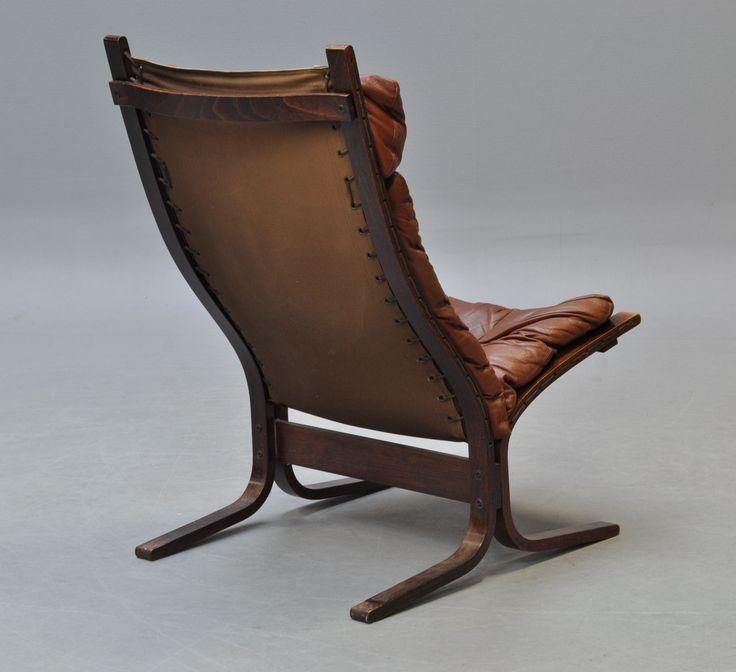 Siesta Chair by Ingmar Relling for Westnofa, Norway.