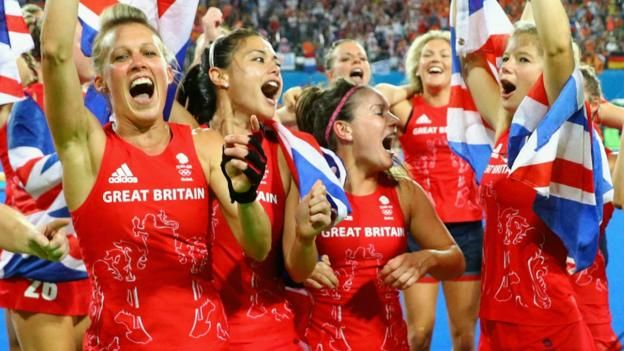 Great Britain's women win a first Olympic hockey gold medal by beating the…