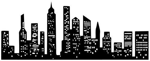 Graphique Home Decal, Cityscape by Graphique, http://www ...