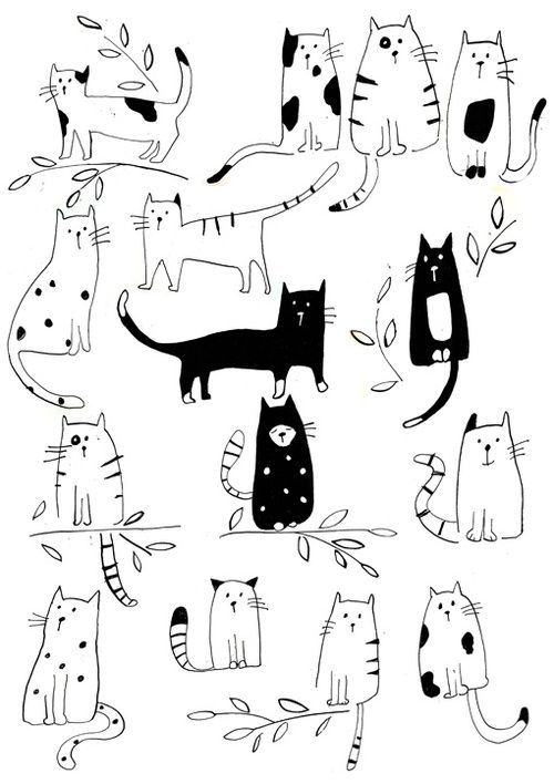Kitty Sketches