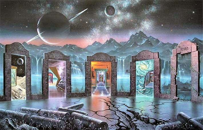 Portals to other dimensions... one of the most intriguing powers of the LightBridge device. ℰ.ℐ. - Cris Figueired♥