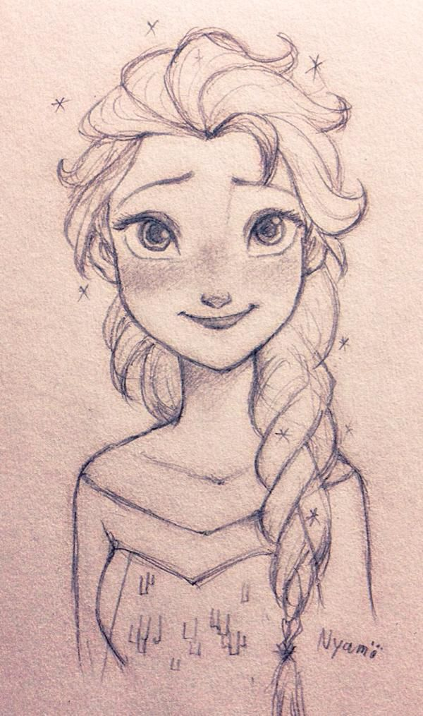 Elsa so cute!!! | Art | Pinterest | Frozen, So cute and I ...