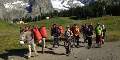 5 Great Family Adventure Holidays in Europe / Mont Blanc family walk with UTracks