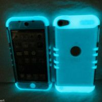 glow in the dark ipod 5 case $14.94 Wanelo