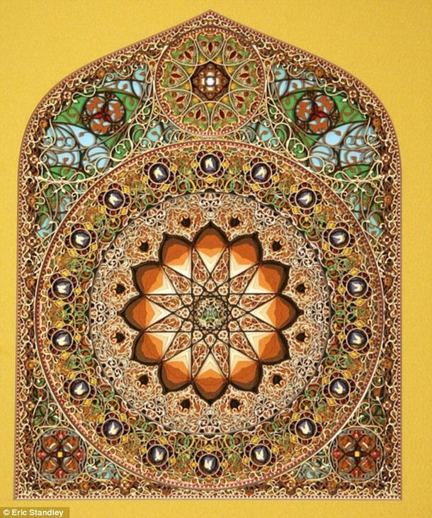 Best Eric Standley Lasercut Paper Art Images On Pinterest - Beautiful laser cut paper art eric standley