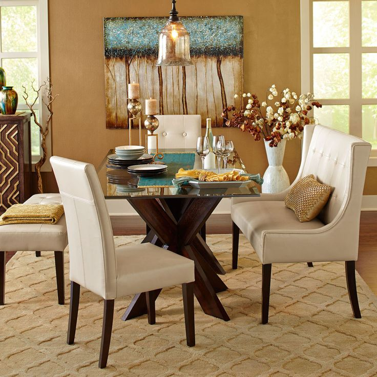Glasstop Dinning Room Table