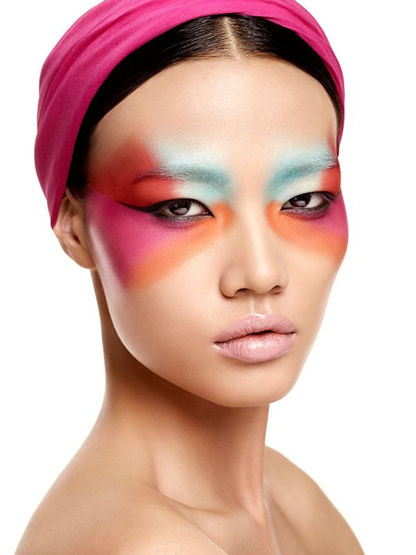 Deborah Milano Makeup II by Lado Alexi, via Behance