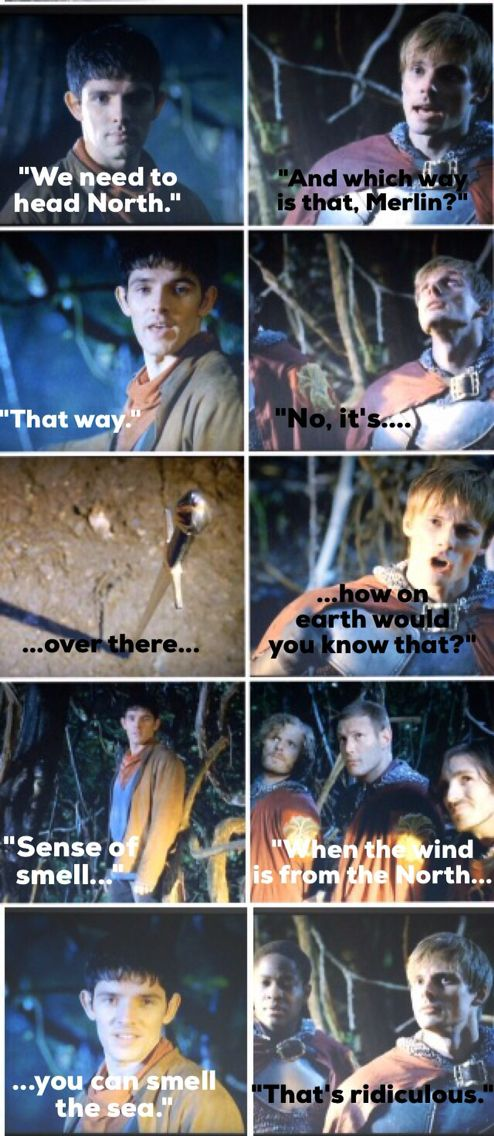 'The Dark Tower' ...just another of Merlin's brilliant excuses! #merlin