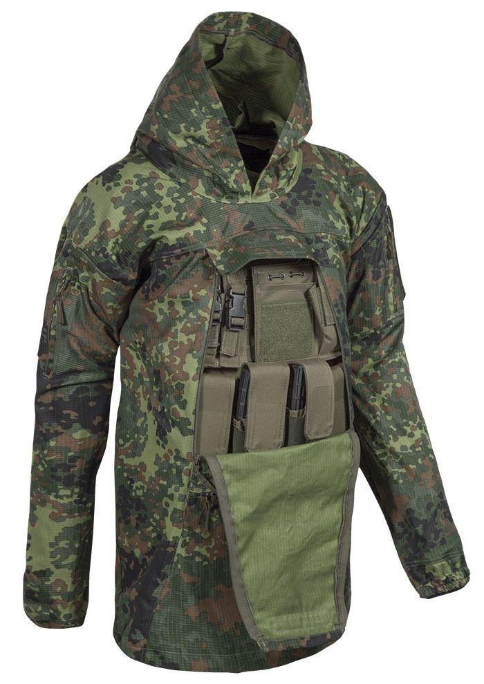 Köhler Combat Anorak Flecktarn | Flecktarn, Taktische jacke