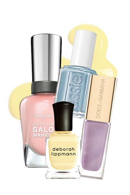 The top 10 nail trends for spring 2014: Easter Egg