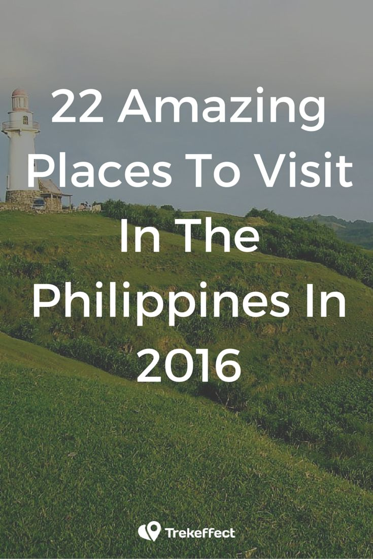 Wondering what are the best places to visit in the Philippines in 2016? Here's a list of some of the finest and grandest destinations as well as the up-and-coming sites in this gorgeous Southeast Asian hub!