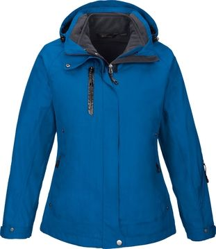 CAPRICE LADIES' 3-IN-1 JACKET WITH SOFT SHELL LINER