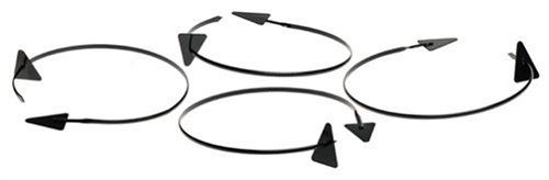 Mr Bar B Q 40017X NS 4-Count Triangle Solid Plate Kabob by MR BAR B Q. $7.97. Non stick triangle solid plate kabob. Fun for presenting food, fits on most regular size dinner plates. Set of 4 Kabobs. Non-Stick Plate Kabob 4 Count