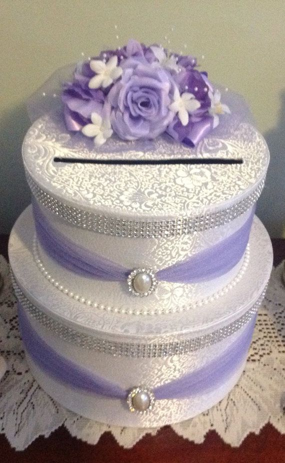 Wedding card holder by Thatssolovely on Etsy, $60.00