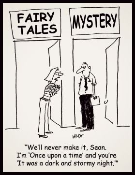 Mystery Fanfare: Cartoon of the Day: Genre