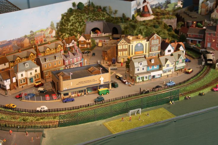 Wimborne Model Town in Wimborne Minster, Dorset