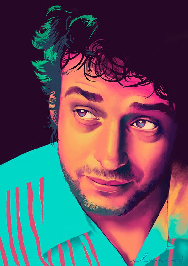 Gustavo Cerati on Behance