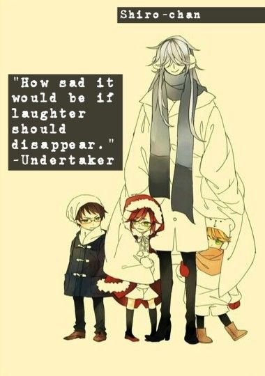How sad it would be if laughter should disappear.-Undertaker