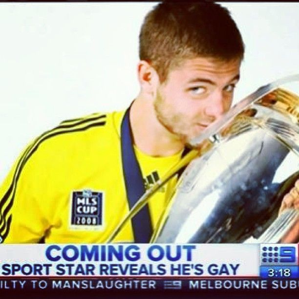 "12 Likes, 3 Comments - Gay Sydney Australia Official (@gaysydneyaustralia) on Instagram: ""Saw Robbie Rogers coming out story the other day on ch 9 news here in Australia we love him cause…"""