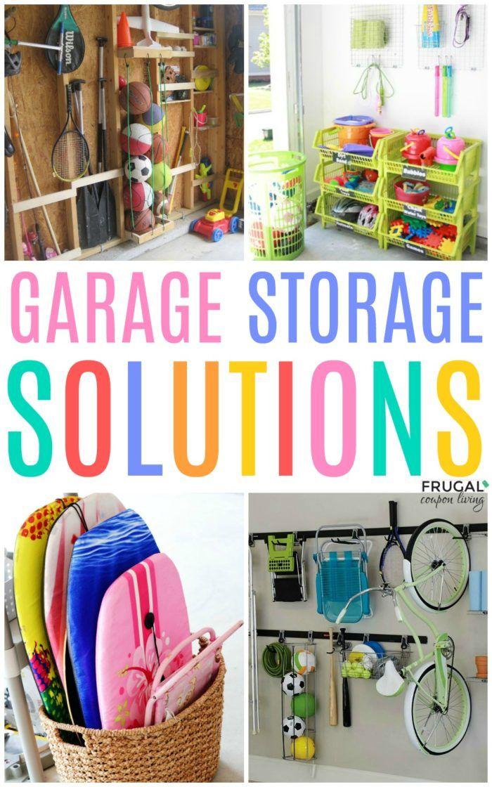Konmari Method Dollar Tree Organizing Ideas Spark Joy With These Tidying Up Tips That F Easy Garage Storage Garage Storage Solutions Dollar Tree Organization