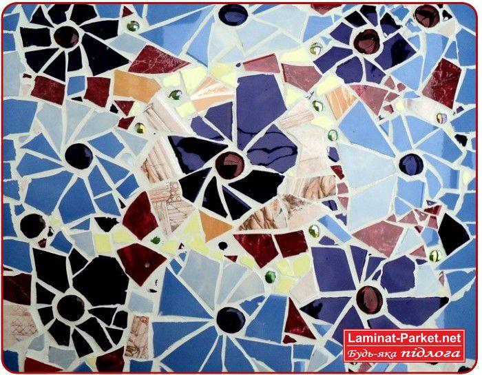 Фото мозаики из битой плитки вЂвЂњ идеи для вдохновенья 5