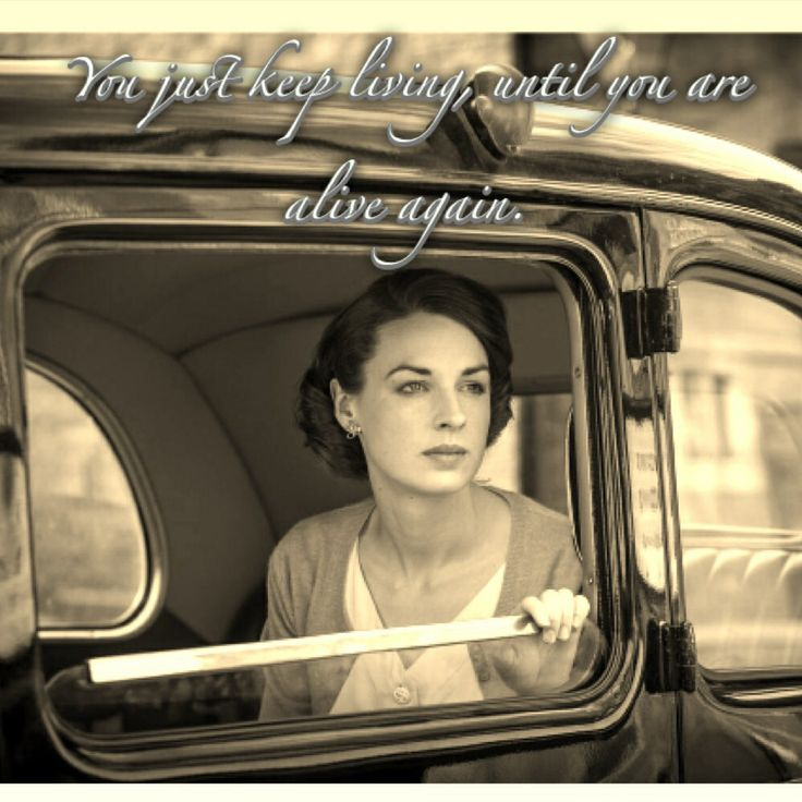 Jessica Raine as Nurse Jenny Lee in Call the Midwife. This quote means everything to me.