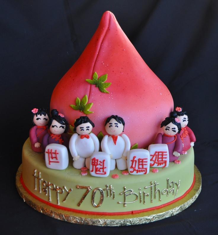 Th Birthday Chinese Cake