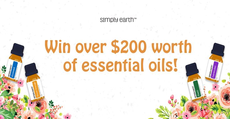 Amyris Essential Oil Giveaway