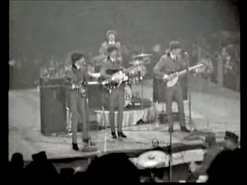 The Beatles - I Want To Hold Your Hand - Fantastic LIVE Version!!!! - YouTube