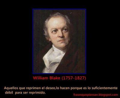 Frases que piensan: Frase con Foto ( William Blake )