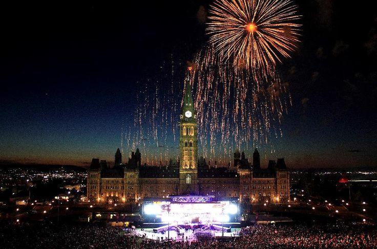 Why Everyone Should Travel Canada 2017 - Canada Day in Ottawa