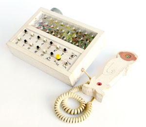 handmade telephone