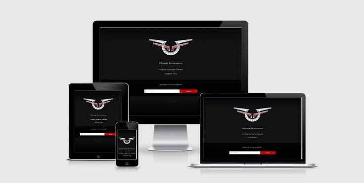 Website design - Teaser website for - Toroidion, Finland by Pennanen Design