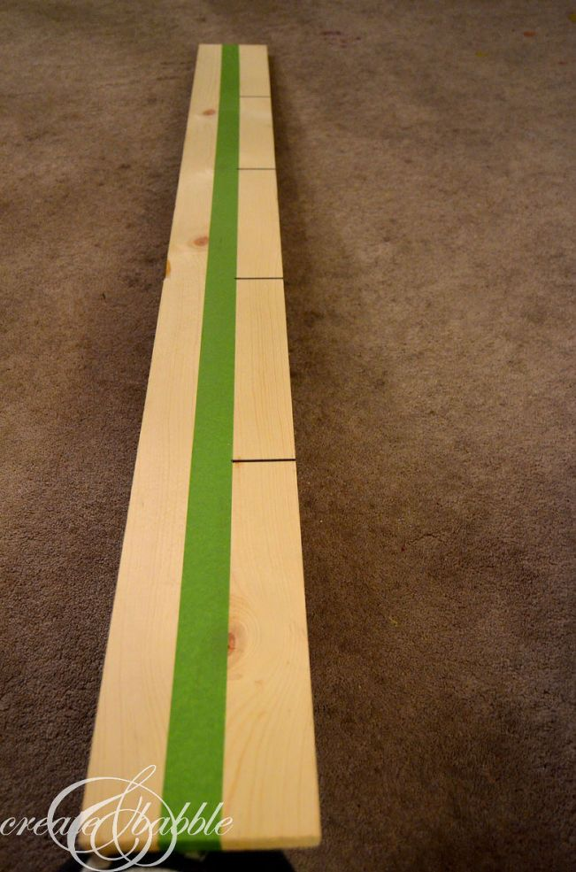 How to make a giant growth chart ruler wooden wall decor sign :: Hometalk