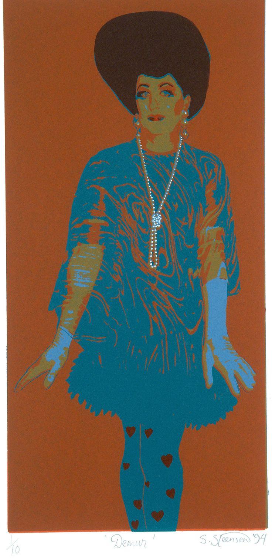 Demur -  S Steenson. Pop art.