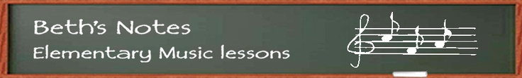 Beth's Music Notes-Elementary Music Lessons....her blog is AMAZING...full of great ideas and tips for the elementary music classroom. So glad I stumbled upon this!