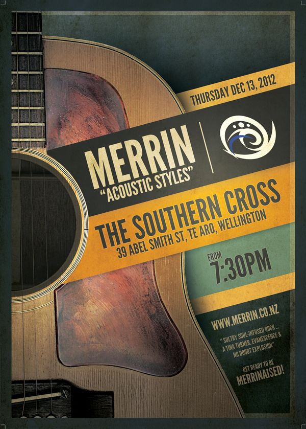 An acoustic gig we had at Southern Cross #Acoustic #Rock #Wellington
