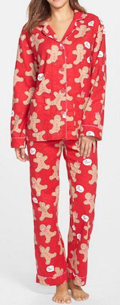 cute gingerbread flannel pajamas  http://rstyle.me/n/ufarapdpe