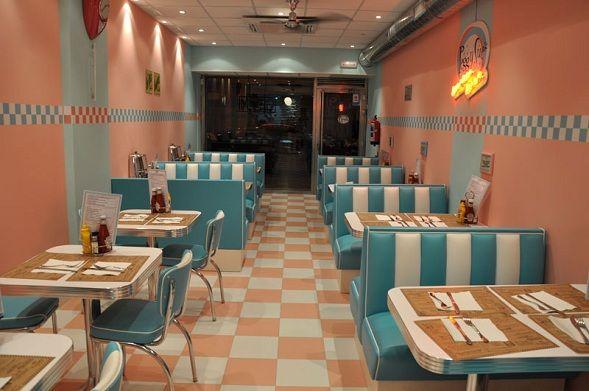 Decoracion de locales cafeteria restaurante decoraci n - Decoracion de interiores bilbao ...