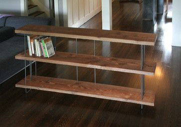 Modern Industrial Bookcase by Birdloft - modern - bookcases cabinets and computer armoires - Etsy