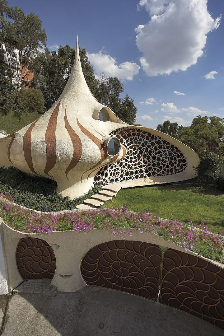 Natureza inspira arquitetura orgânica e ecológica no México