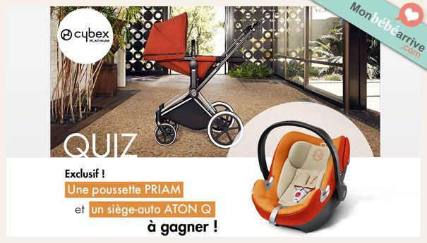 Gagnez une poussette et un siège auto CYBEX http://www.monbebearrive.com/jeu-concours-une-poussette-et-un-siege-auto-cybex-a-gagner/