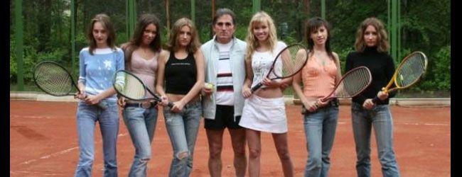 Coach de tenis en Rusia que sólo entrena mujeres bellas