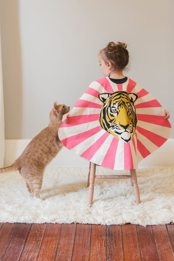 Tiger Cape by lovelane on Etsy. #designer #kids #estella #fashion