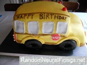School bus party! Good goody bag ideas