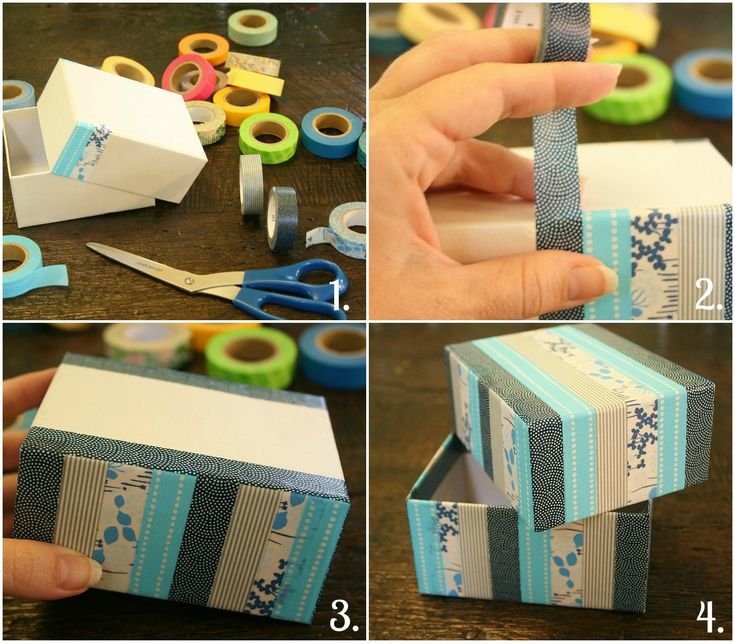 Washi tape box how to