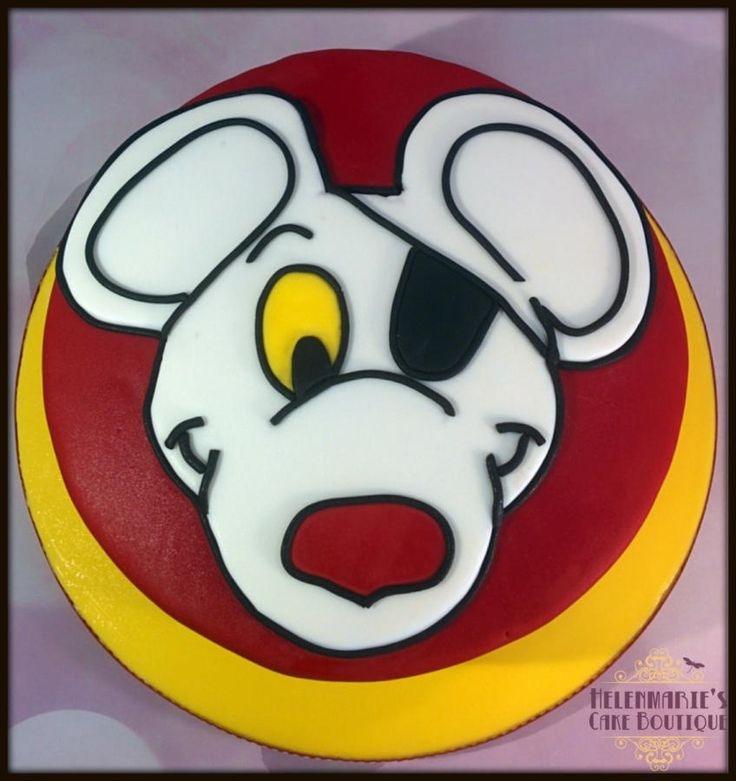 Danger Mouse cake - Cake by Helenmarie's Cake Boutique