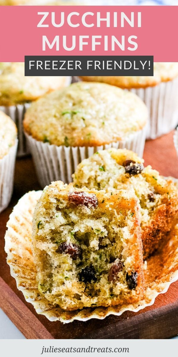 Use Up Your Fresh Zucchini With This Quick And Easy Zucchini Muffin Recipe That S Freezer Friendly Moi In 2020 Zucchini Muffins Delish Recipes Zucchini Muffin Recipes