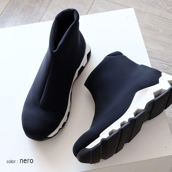 【楽天市場】Design Manifattura デザイン マニファトゥーラ / ストレッチ スニーカー ハイカット ショートブーツ レディース モード (dge803) インポートシューズ:インポート靴のALEXIS/アレクシス